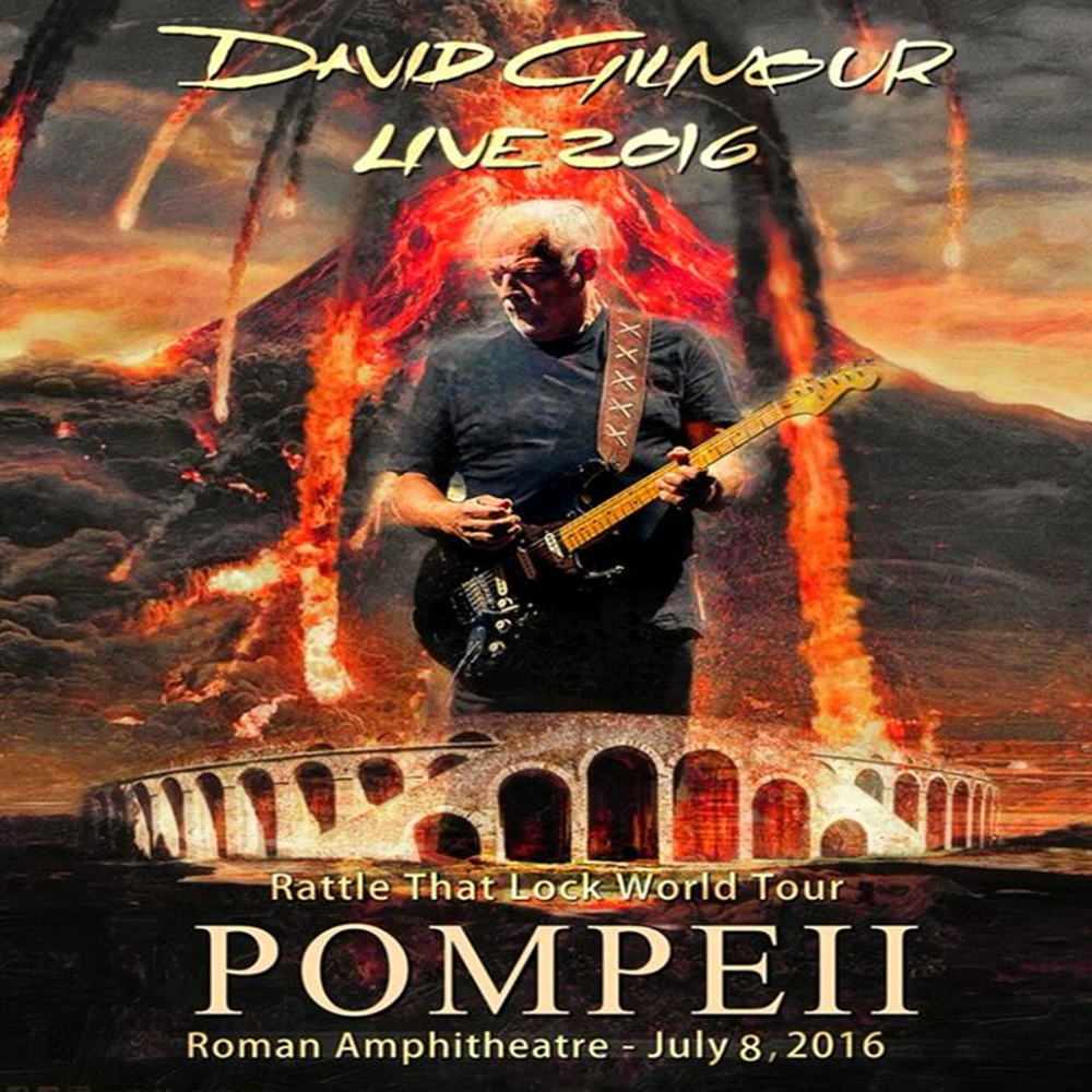 PINK FLOYD David Gilmour Pompei 2016 July 8