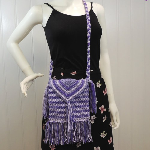 Purple Passion Purse - Free Pattern