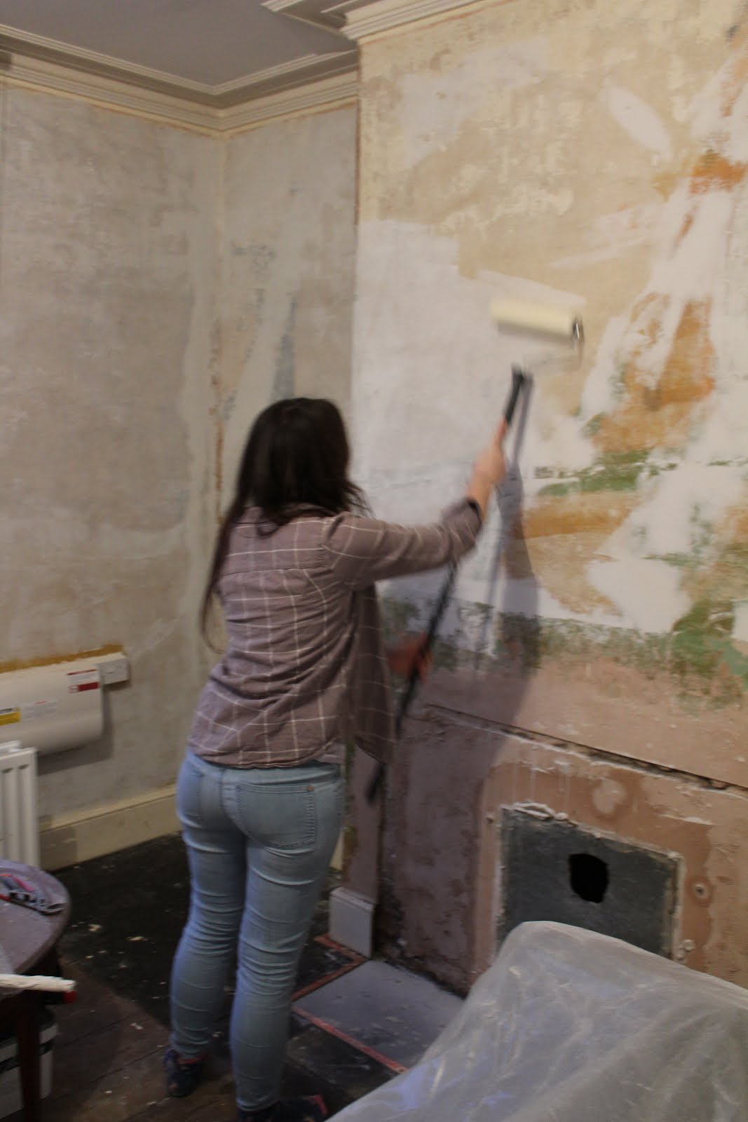 painting old walls