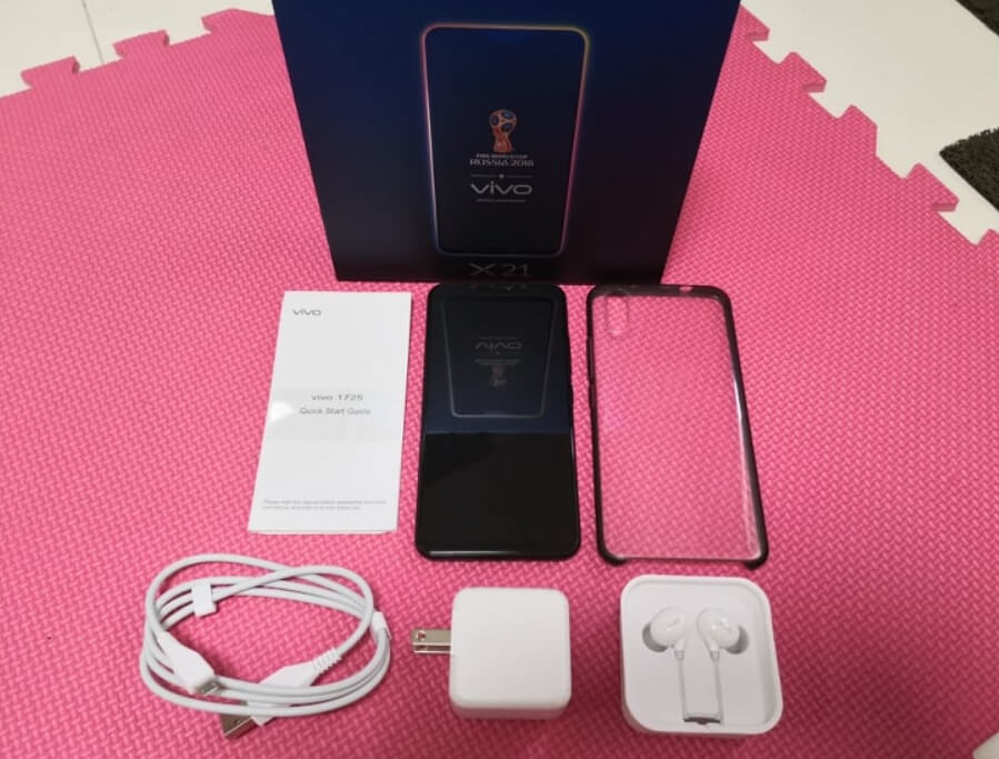 Vivo X21 Retail Package