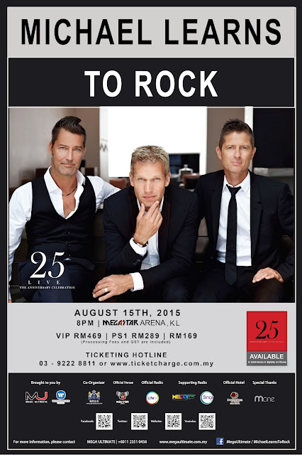 MICHAEL LEARNS TO ROCK LIVE IN MALAYSIA 2015  15 August 2015 Megastar Arena, Kuala Lumpur