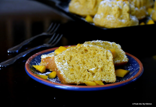 Eggless Mango Cake ~ Day 124