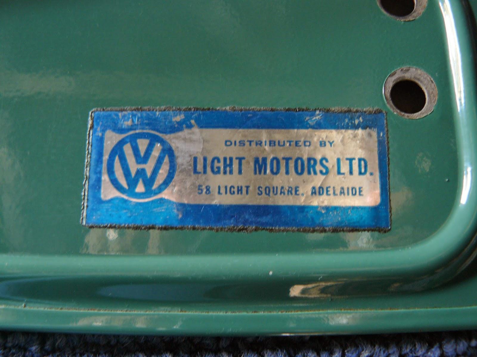 Green Light Motors >> Aaron S Vw 1500 Blog Light Motors Ltd Adelaide