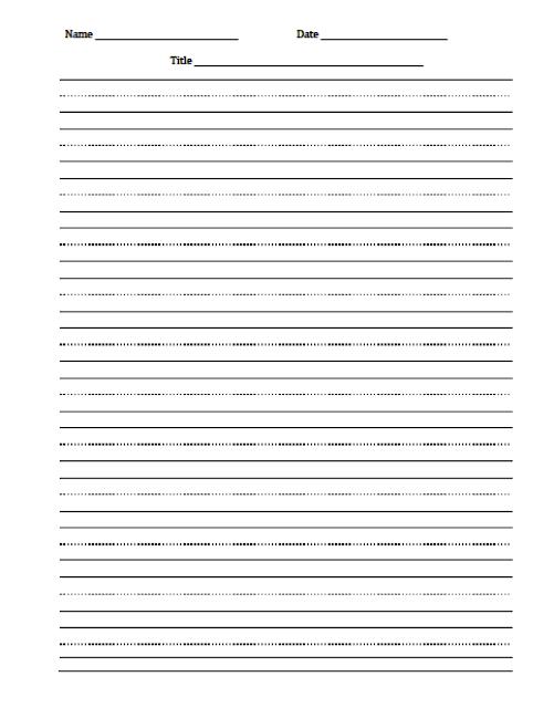3rd Grade April Writing Prompts