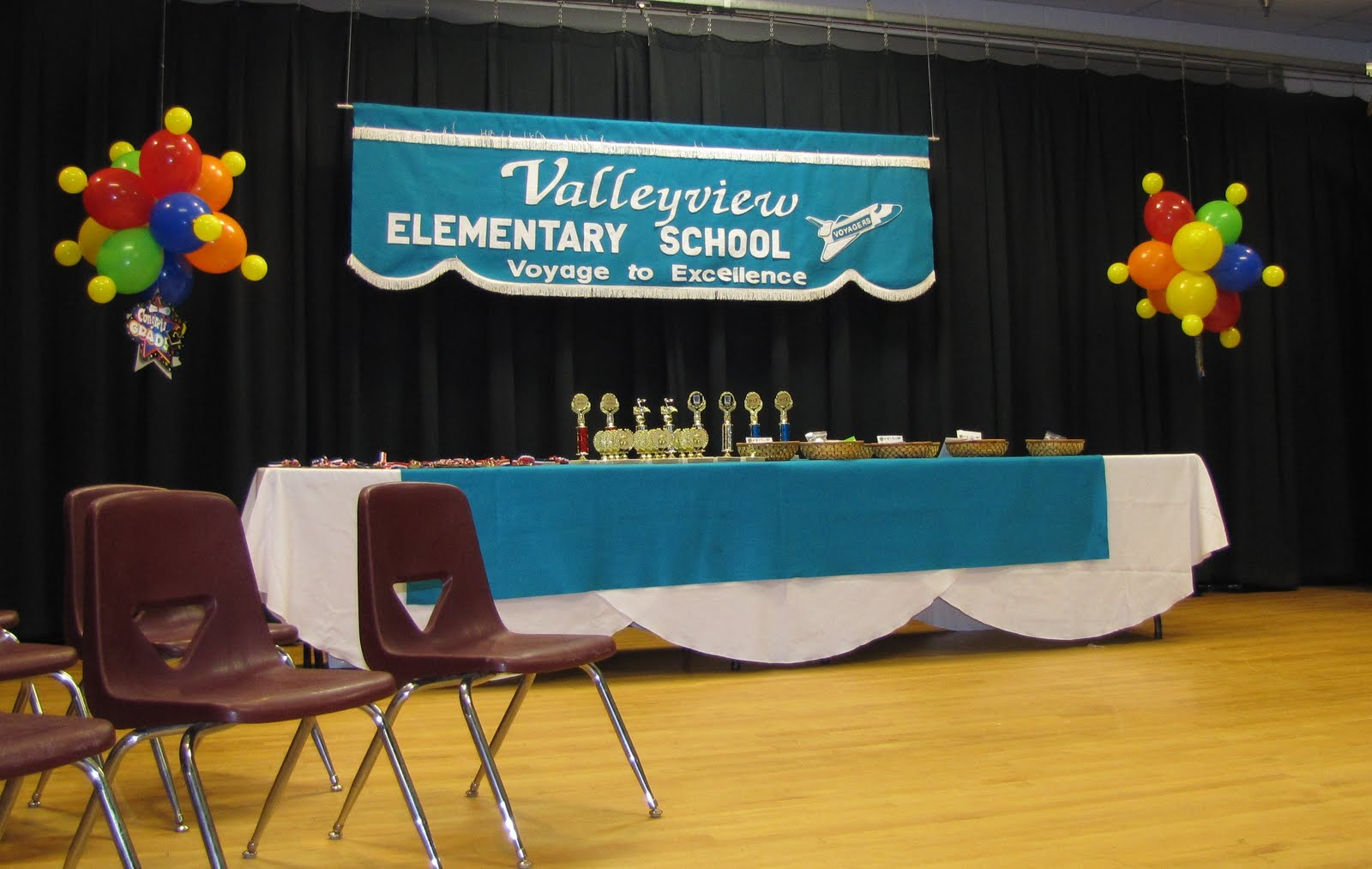 Party People Event Decorating Company Valleyview Elementary 5th