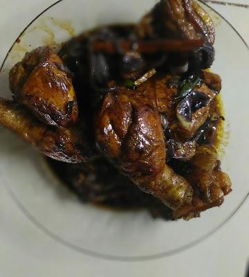 Resepi Ayam Masak Kicap Ringkas