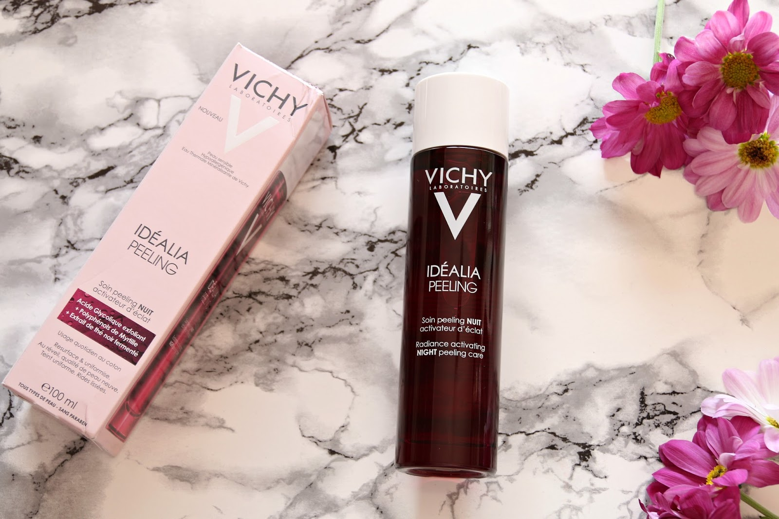 VICHY Idéalia Peeling Review: Perfect Overnight Peel for Sensitive Skin!