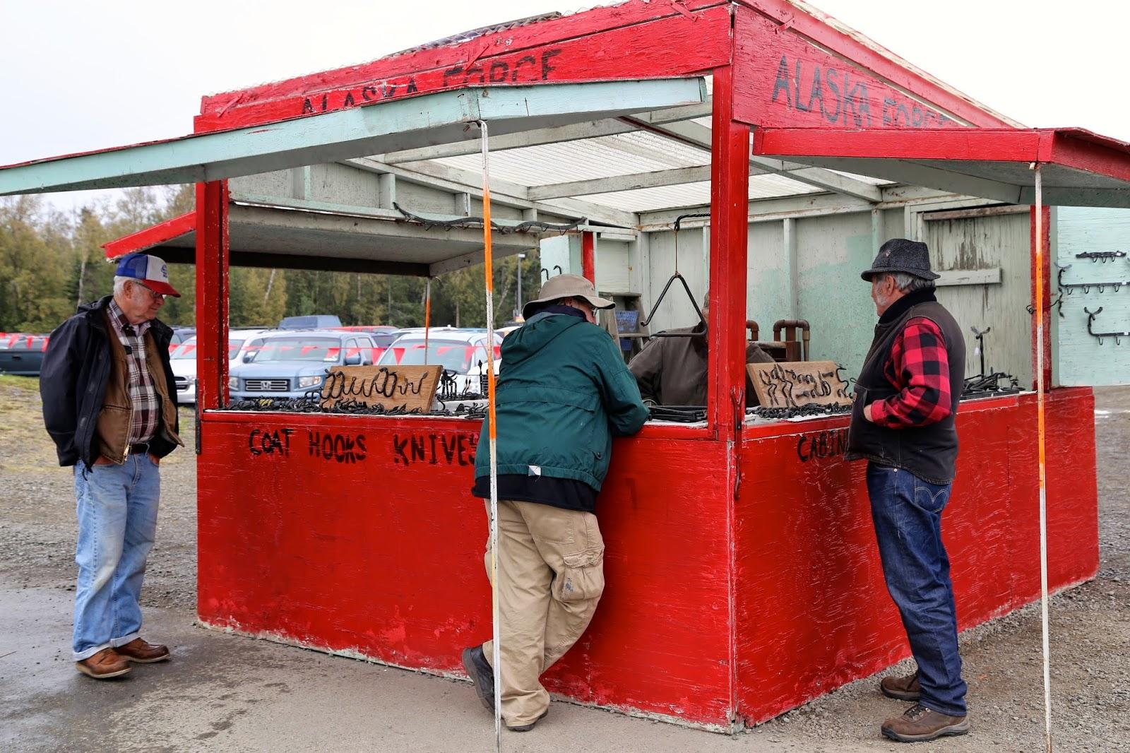 Blacksmiths, Alaska State Fair