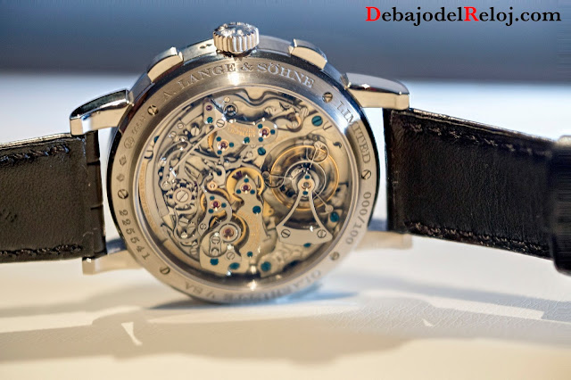A.Lange & Sonhe Datograph Perpetuo Tourbillon trasera