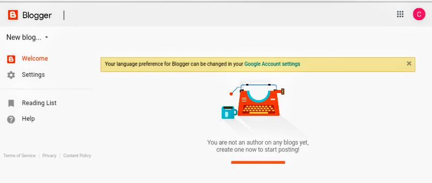 Free me blog website kaise bnaye   step by step in hindi