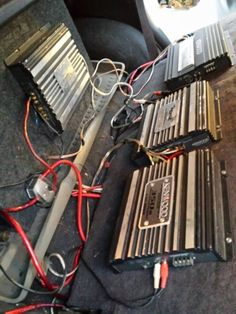 How To Hook Up Two Amps : Install, Audio, Systems