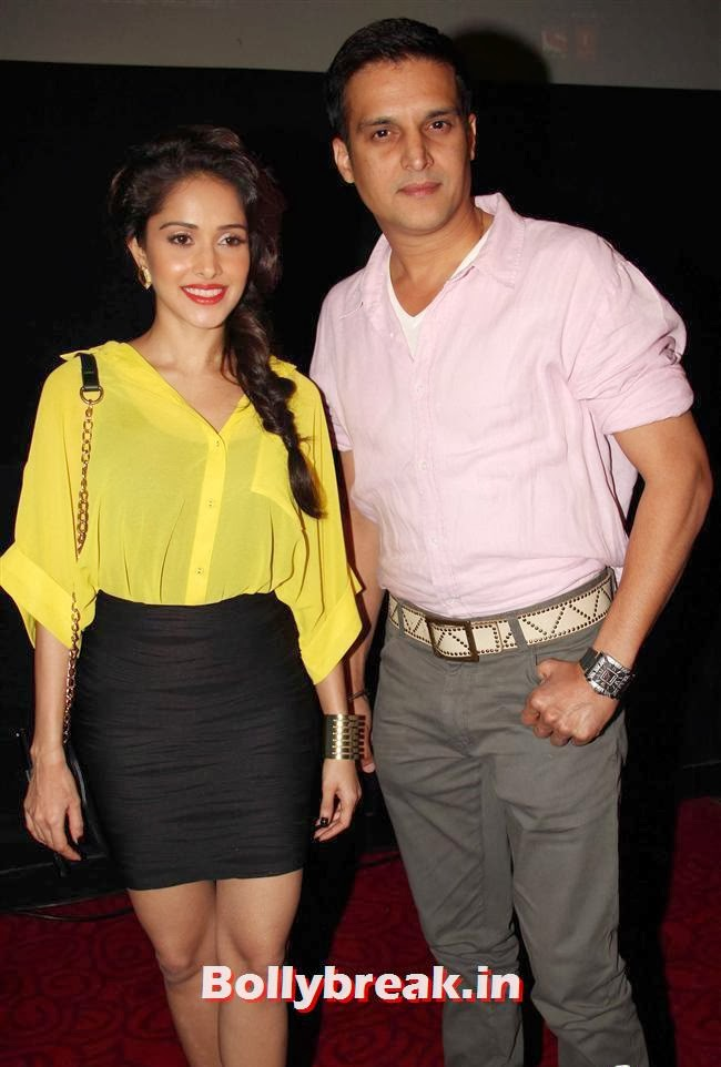 Nushrat Bharucha and Jimmy Shergill, Nushrat & Nivedita at 'Darr at The Mall' First Look Launch