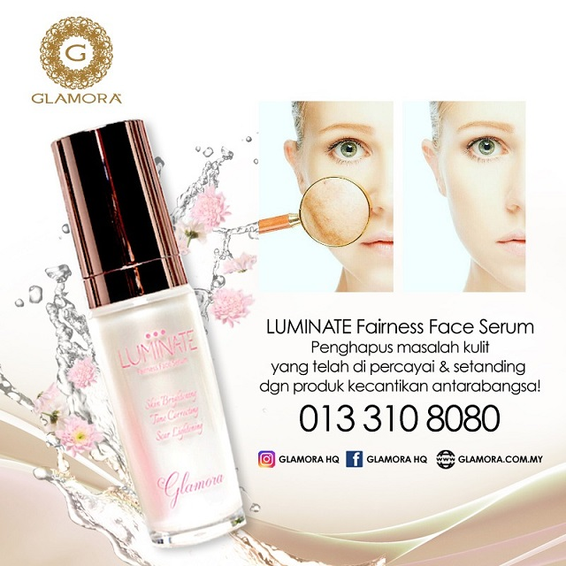 GLAMORA LUMINATE Fairness Face Serum