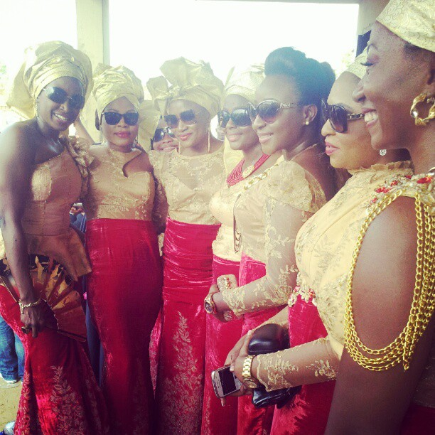 RealFlowz: Ini Edo At 2face&Annie's Traditional Wedding