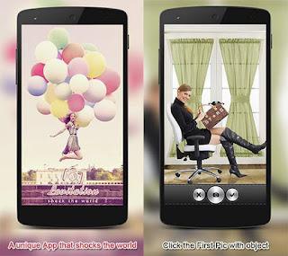 Aplikasi Edit Foto Melayang Android Levitation Photography