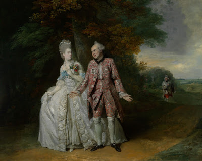 Sophia Baddeley, Robert Baddeley, Thomas King by Johan Zoffany in The Clandestine Marriage in 1769.