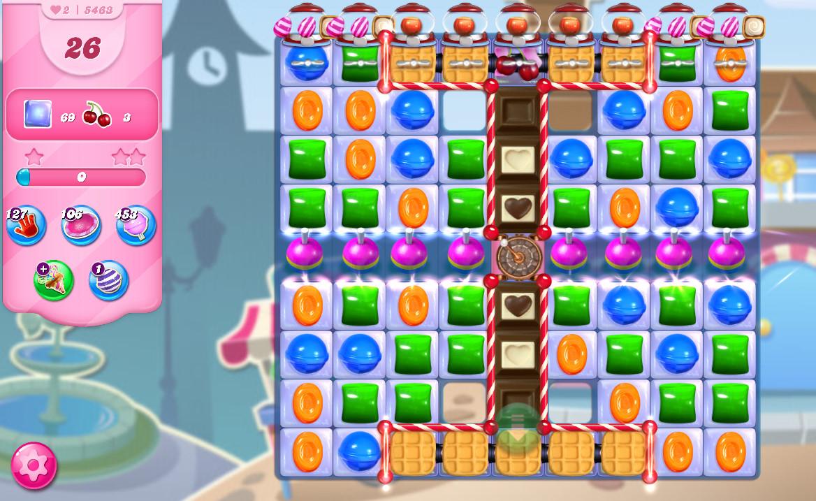 Candy Crush Saga level 5463