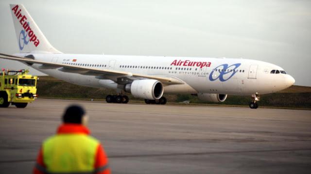 lista vuelos cancelados por huelga de pilotos air europa 2016