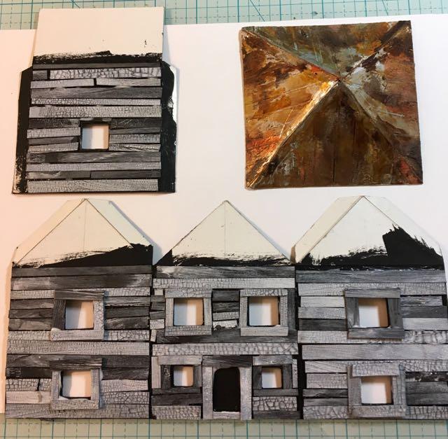 Hip Roof Farmhouse Latest House For Habitat Paper