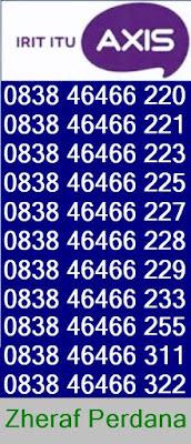 Nomor Cantik Axis - Nocan Axis Murah