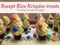 Recept Rice Krispies-treats - Vrolijke kerstboompjes