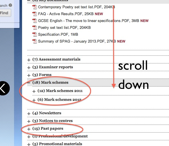 Ocr english papers gcse