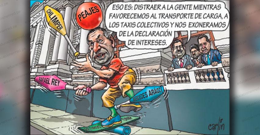 Carlincaturas Domingo 10 Mayo 2020 - La República