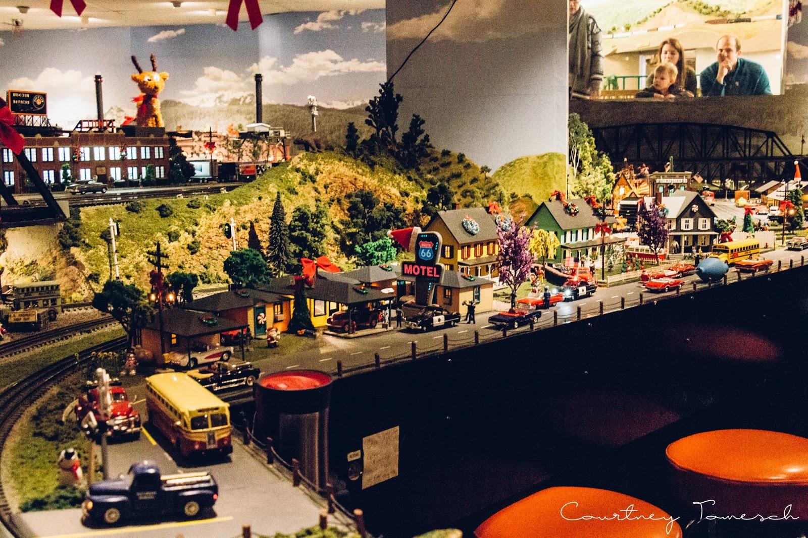 Courtney Tomesch Balboa Park December Nights San Diego Model Railroad Museum