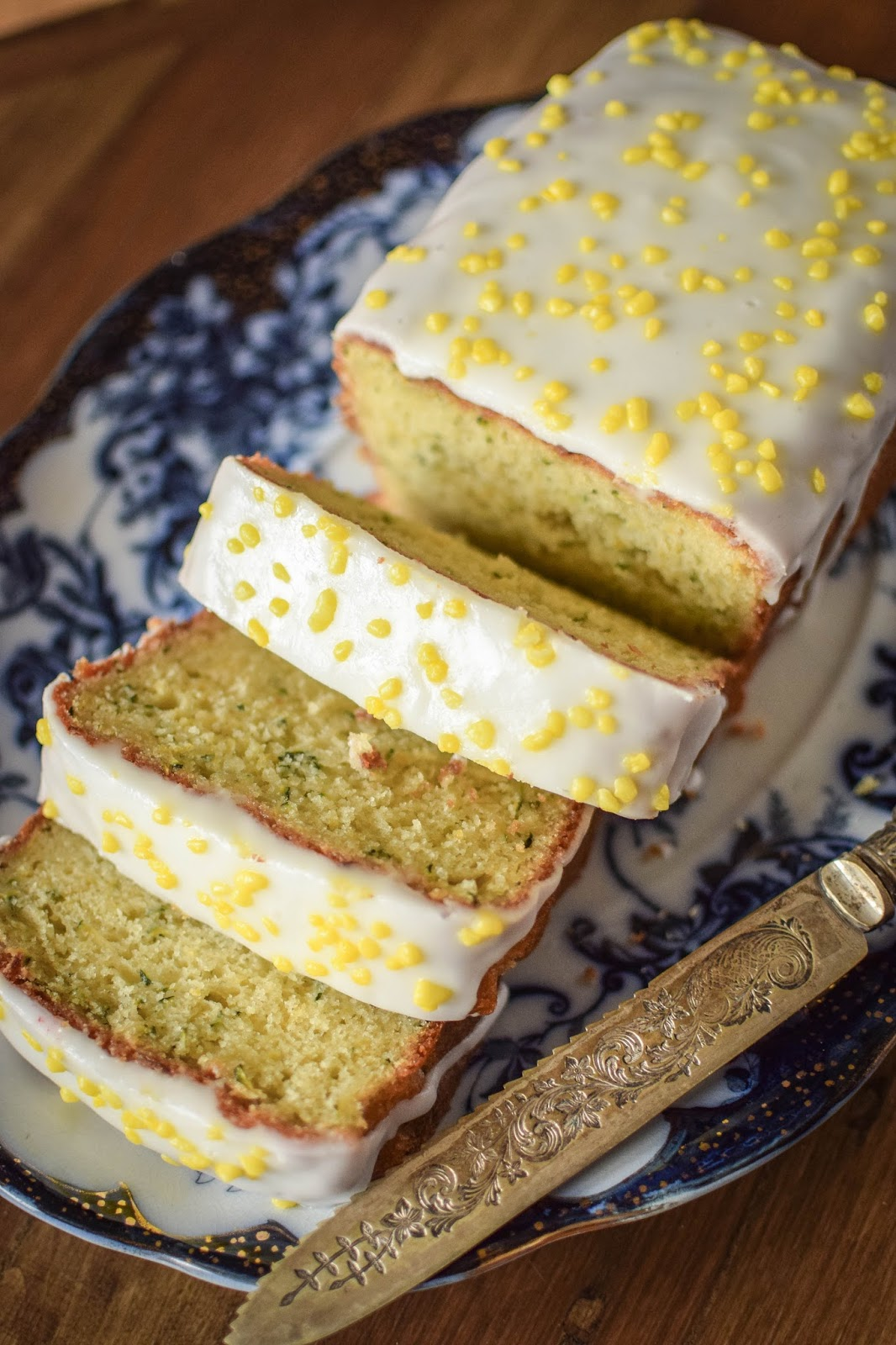 Lemon Zucchini Loaf, who said carrots are the only vegetables allowed in cake?