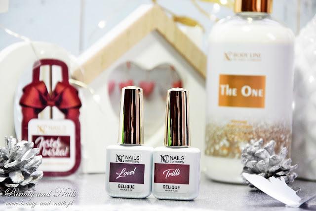 NC Nails Company - lakiery hybrydowe Trilli i Lovel.