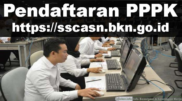 Hari Terakhir Daftar PPPK di sscasn.bkn.go.id, Berikut Alur dan Persyaratanya