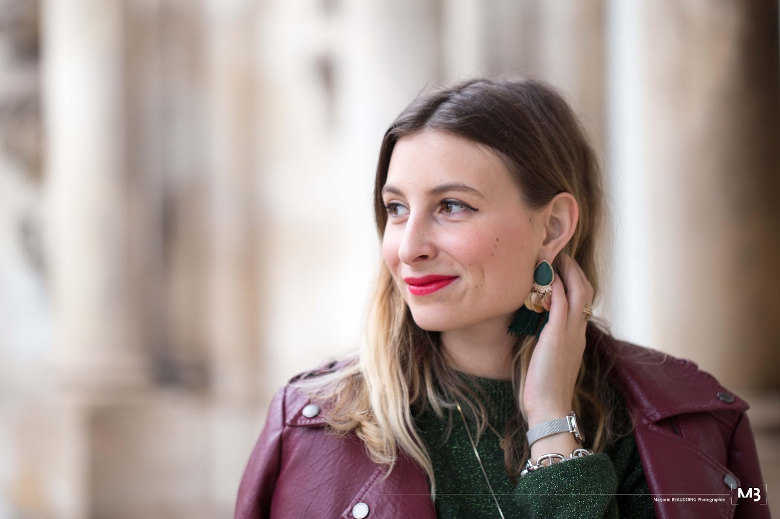 blog mode : look femme automne // montre femme daniel wellington idée cadeau noël