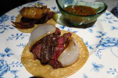 El Mero Mero, angus tenderloin bone marrow tacos