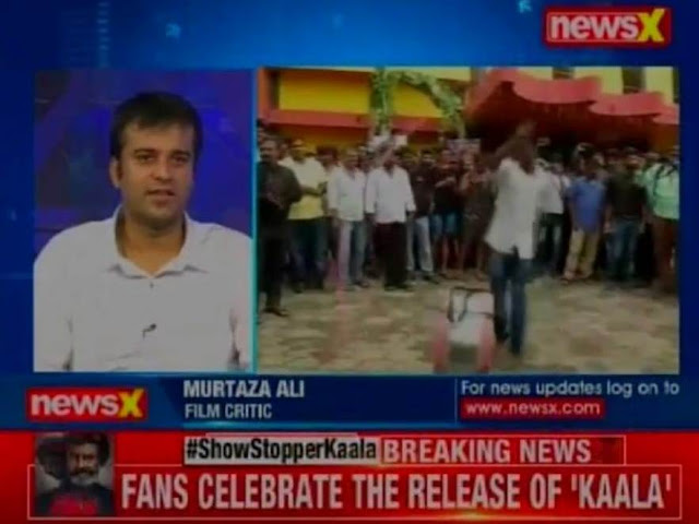 Murtaza Ali Khan discussing the prospects of Rajinikanth starrer Kaala at the box-office, Kaala controversy, Karnataka ban
