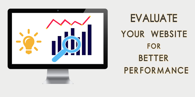 evaluate website for better performance.