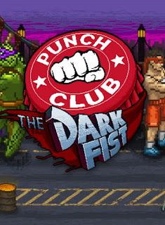 punc club the dark fist+game+retro+pc+16 bits+cover