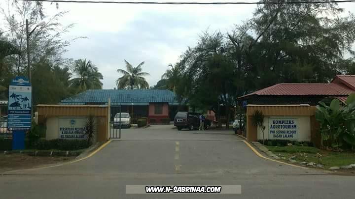 bercuti di Kompleks PNK Resort Bagan Lalang