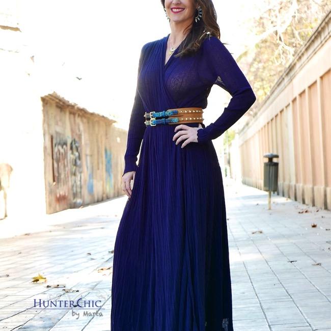 hunterchic by marta-marta halcon de villavicencio-blog de moda y tendencias-como combinar vestido largo