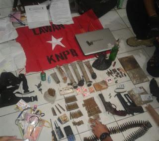Geledah Dua Rumah di Pos VII dan Doyo, Polisi Sita Tiga Senjata, Ratusan Amunisi dan Bom Molotov Rakitan