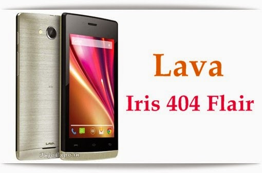 Specifications and price of Lava Iris 404 Flair