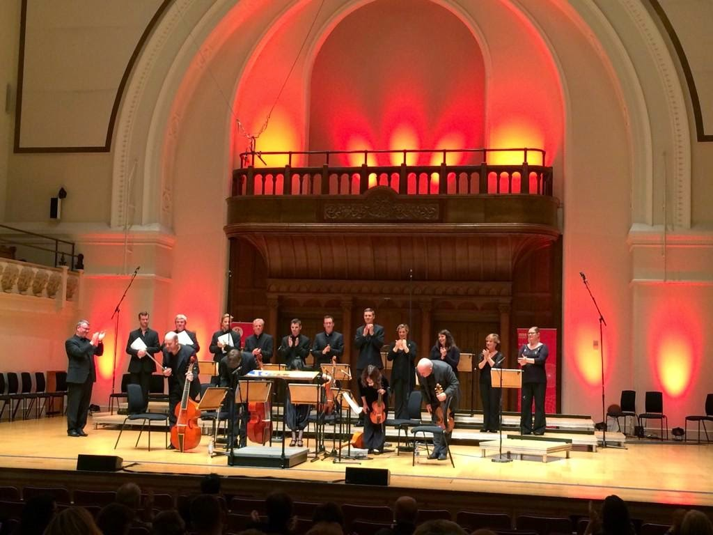 BBC Singers, Fretwork and Andrew Carwood at the Cadogan Hall, photo BBC