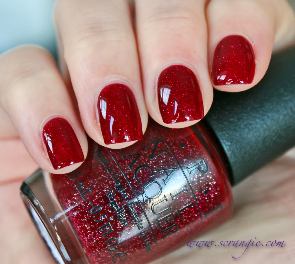 Xmas Nail Colours: Scrangie: OPI Mariah Carey Collection Holiday 2013