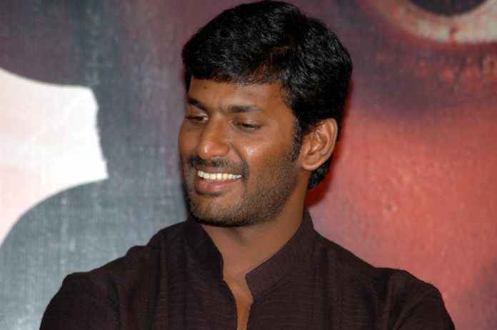 most popular tamil actor Vishal salary, Income pay per movie, he is in top 10 list of Highest Paid actors in 2016