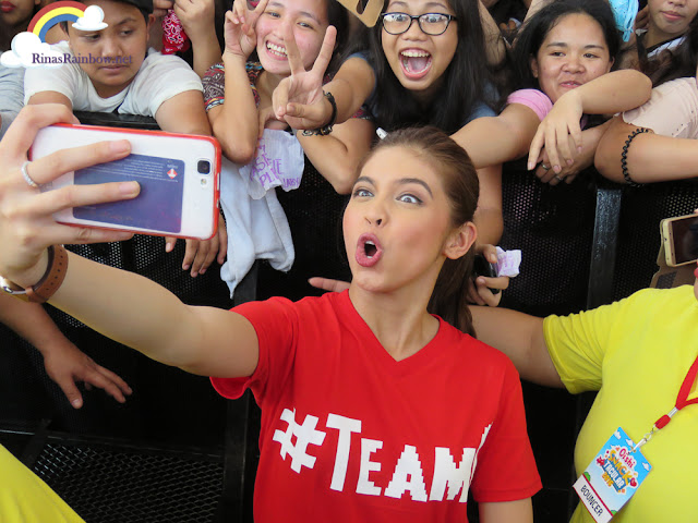 Maine Mendoza Selfie, Team O