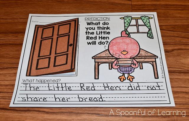 The Little Red Hen Unit 4