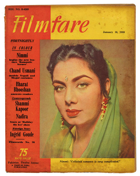Nimmi on Filmfare Magazine