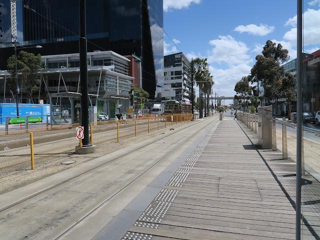 tram tracks, yarra tram, free tram zone, melbourne, australia