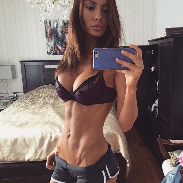 Fitness Model Oksana Rykova