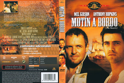 Carátula dvd: Motín a bordo (1984) The Bounty
