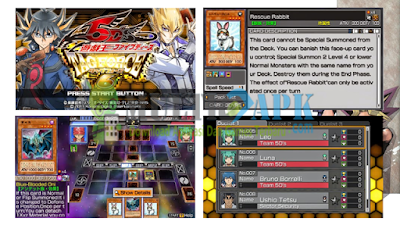 Yu-Gi-Oh! 5D's Tag Force 6 ISO PPSSPP English Patch Android
